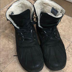Men's waterproof Cole Han boots